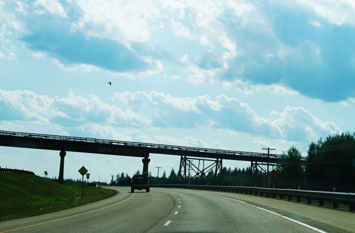 Highway 1 West bound.